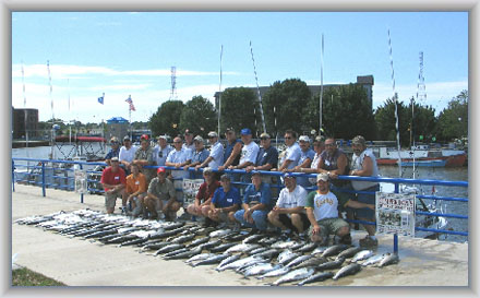 *All These Anglers Enjoyed Catching Over 100 Fish Total*