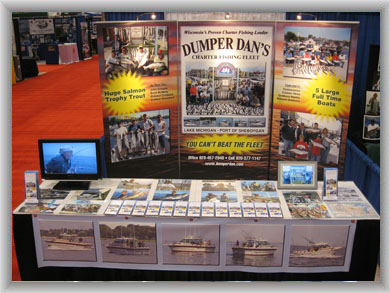 Our Newest Dumper Dan Sportshow Exhibit